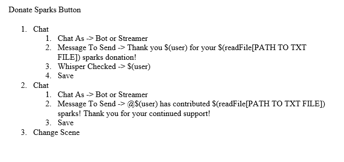 Streamlabs Chatbot Commands List